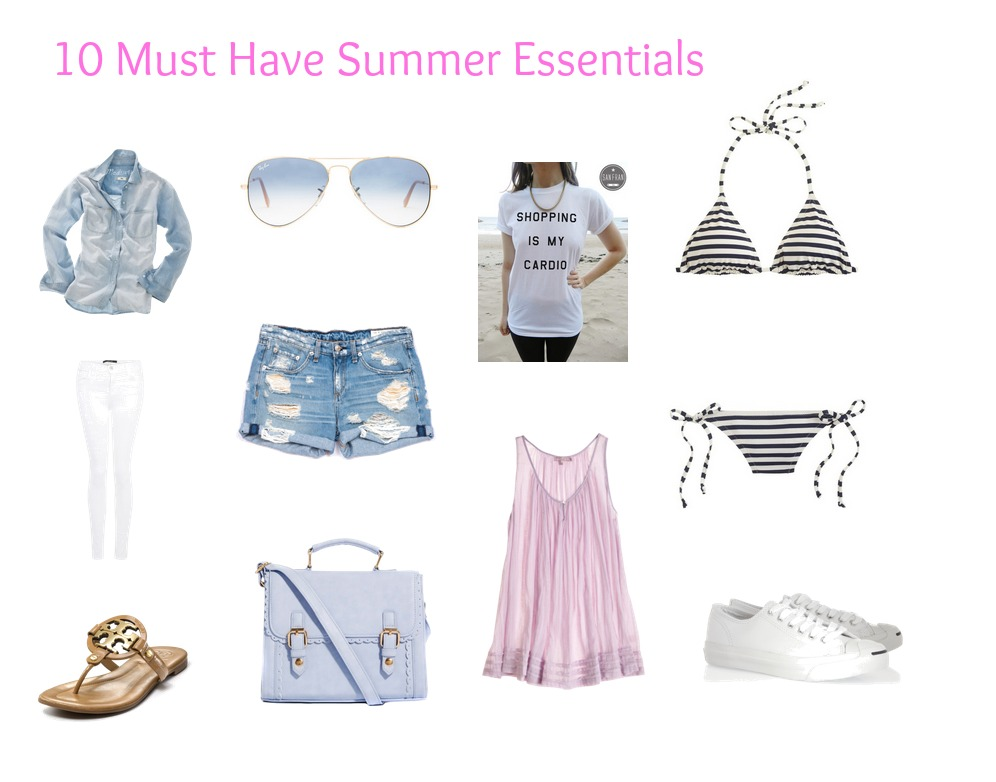 7a55355f3ed7 10 Must Have Summer Essentials - It Starts With Coffee - Blog by ...