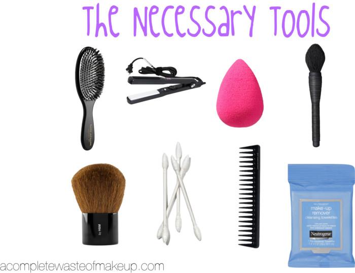 Necessary Tools