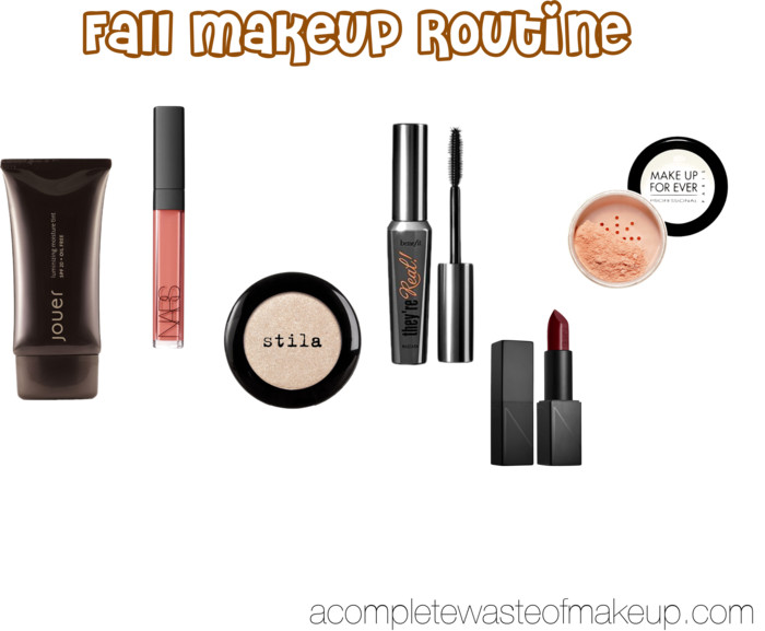 Fall Makeup Routine