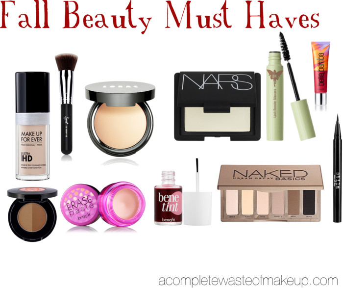 fall beauty must haves it starts with coffee blog by neely moldovan lifestyle beauty parenting fitness travel - Makeup Must Haves