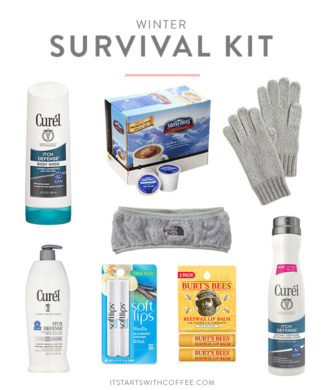 winter survival kit Coffee And Dry Skin Winter Survival Kit It Starts With Coffee A Lifestyle Beauty Blog By Neely Moldovan