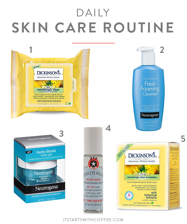 Face Skin Care Routine Vizitmir