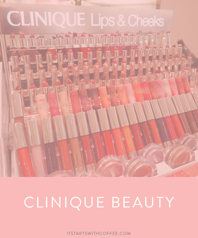 Clinique Beauty - It Starts With Coffee - A Lifestyle + Beauty Blog by Neely Moldovan