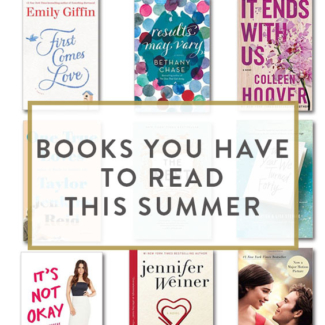 Books You HAVE To Read This Summer
