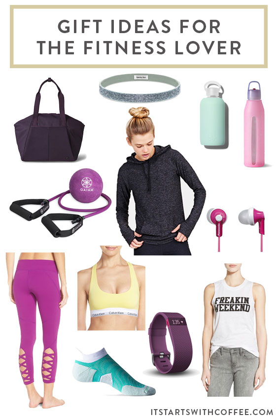 Gift Ideas For The Fitness Lover It Starts With Coffee Blog By Neely Moldovan Lifestyle