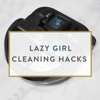 Lazy Girl Cleaning Hacks
