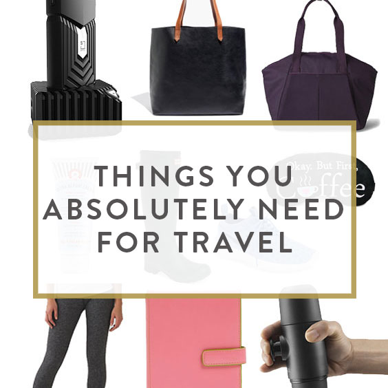 Things You Absolutely Need For Travel