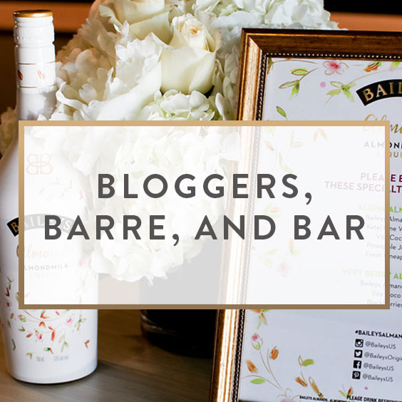 Bloggers, Barre, And Bar