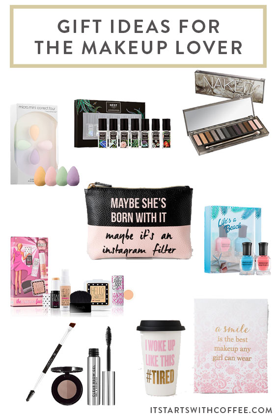 Gift Ideas For The Makeup Lover - It