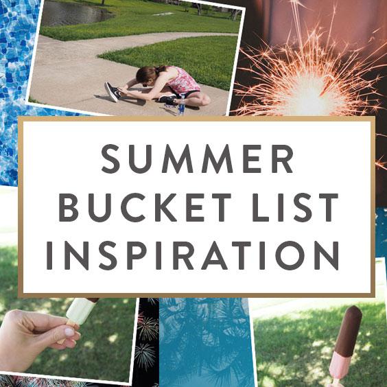 Summer Inspiration: Summer Bucket List