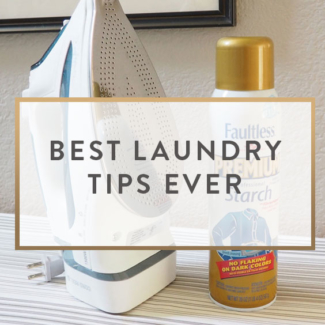 Best Laundry Tips + Giveaway