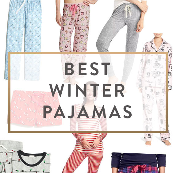 Best Winter Pajamas - It Starts With Coffee