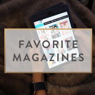 Favorite Magazines