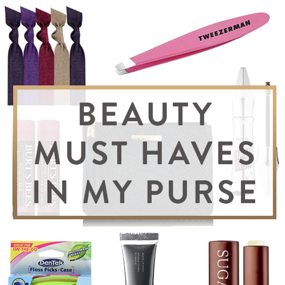 Beauty Must Haves In My Purse