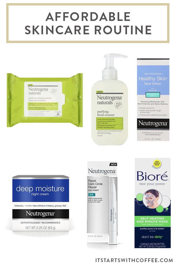Affordable skin care