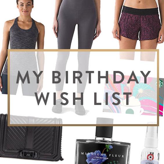 33rd Birthday Wish List