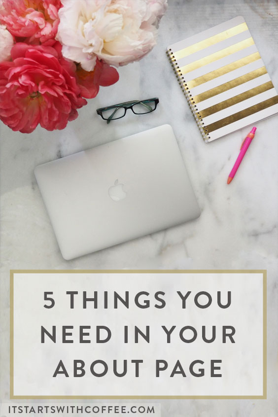 5 Things You Need In Your About Page