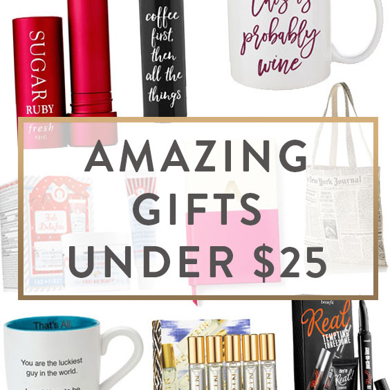Amazing Gifts Under $25