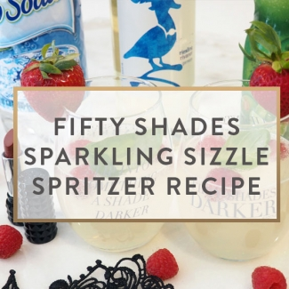 Fifty Shades Sparkling Sizzle Spritzer Recipe