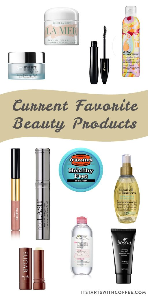 current favorite beauty products for summer
