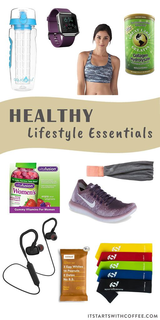 healthy lifestyle essentials
