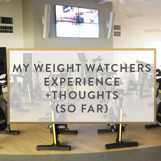 My Weight Watchers Experience (So Far)