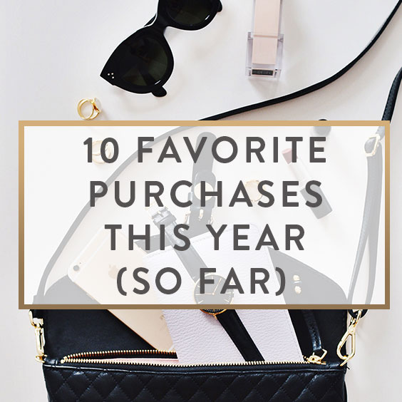 10 Favorite Purchases This Year