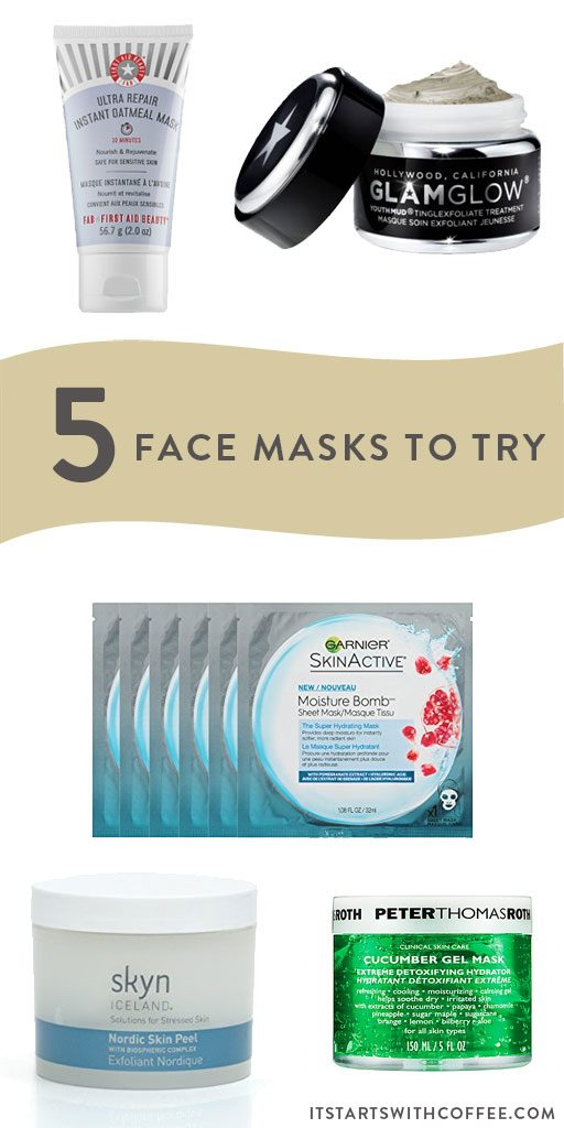 five face masks to try