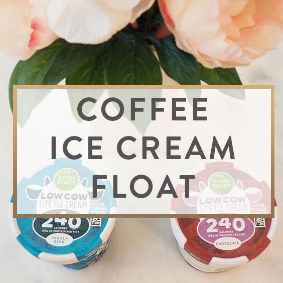 Coffee Ice Cream Float