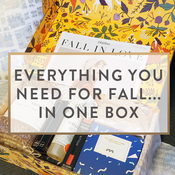 Everything You Need For Fall...In One Box