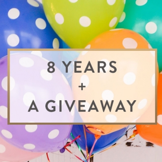 8 Years + A Giveaway