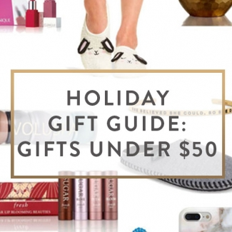 Holiday Gift Guide: Gifts Under $50