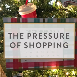 The Pressure Of Shopping