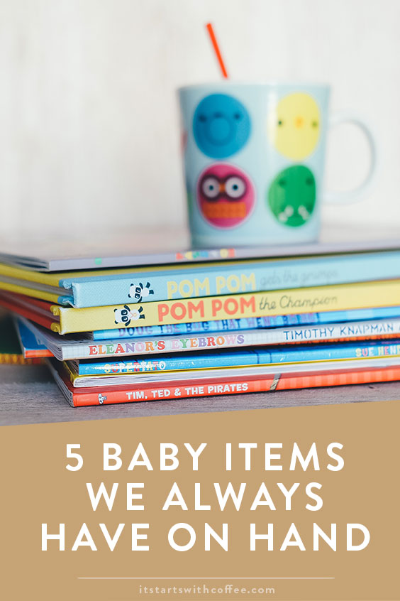 fac4faf61f So now after almost a year there are certain things we always have on hand  because we know what our baby wants. So these are the 5 baby items we  always have ...