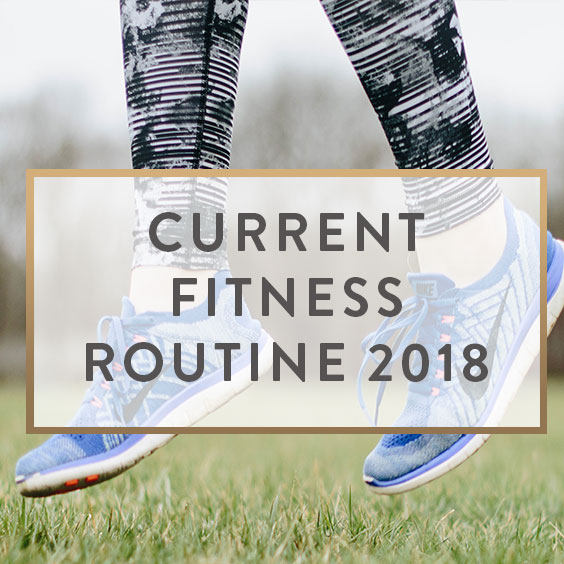 Current Fitness Routine 2018