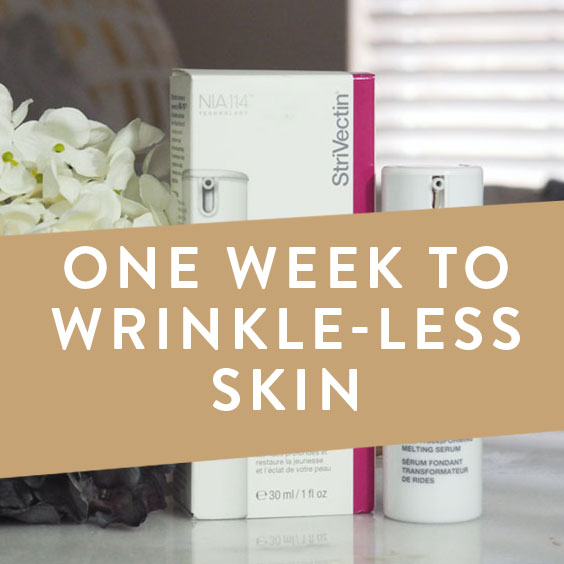 One Week to Wrinkle-less Skin