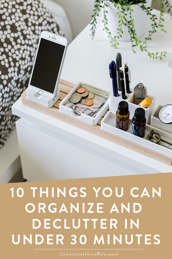 10 things you can organize