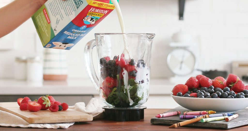 Cooking with Horizon Organic Milk for Toddlers
