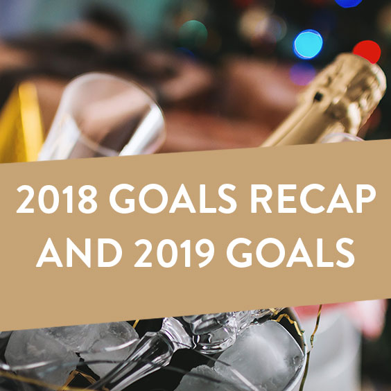 2019 Goals and 2018 Goals Reflection
