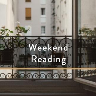 Weekend Reading Vol. 81