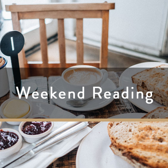 Weekend Reading Vol. 79