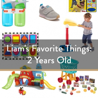 Liam's Favorite Things: 2 Years Old