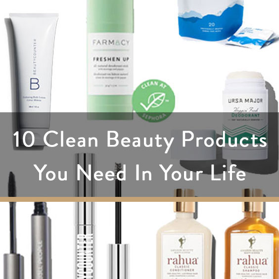 10 (Non Skincare) Clean Beauty Products You Need + Nordstrom Giveaway
