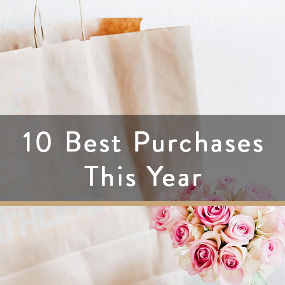 10 Best Purchases This Year