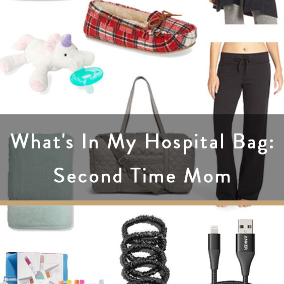What's In My Hospital Bag: Second Time Mom