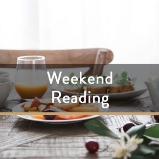 Weekend Reading Vol. 68