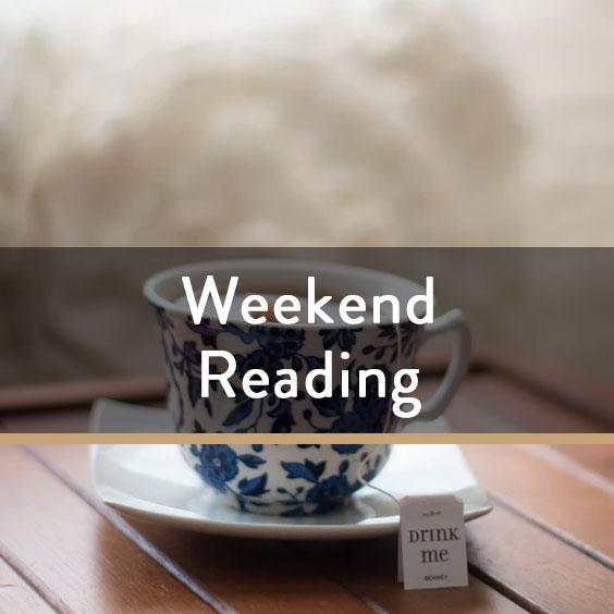 Weekend Reading Vol. 69
