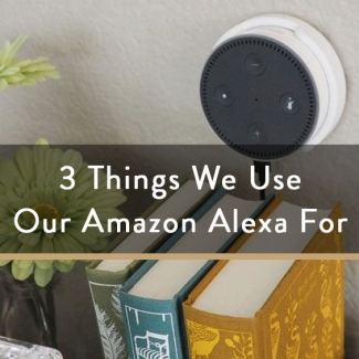 3 Things We Use Our Amazon Alexa For