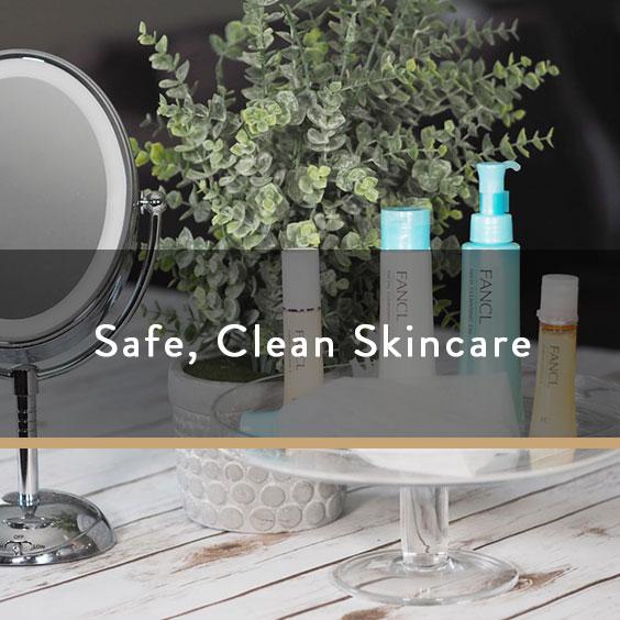 Safe, Clean Skincare