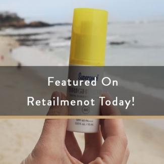 Featured on Retailmenot today!